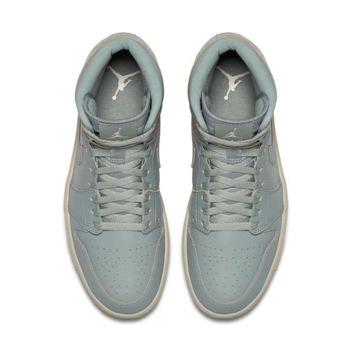 6b5a8957ba8047 Official Look at the Air Jordan 1 High Premium  Mica Green ...