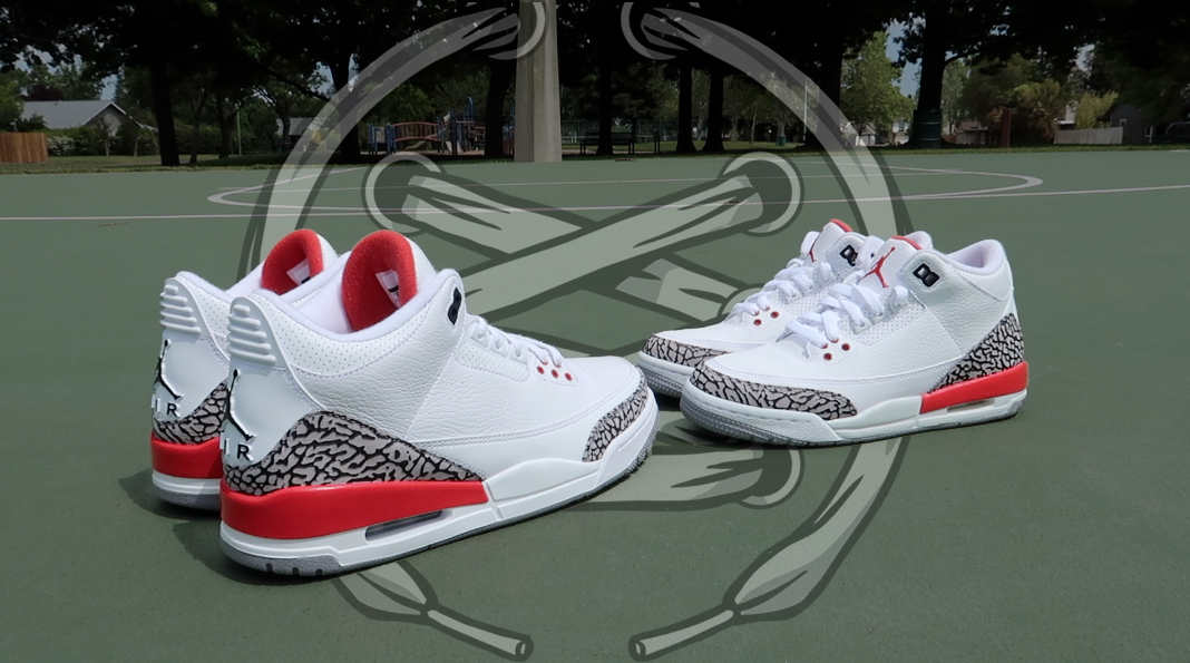 ac7f00c94c06b8 Up Close and Personal with the Air Jordan 3  Katrina  - WearTesters