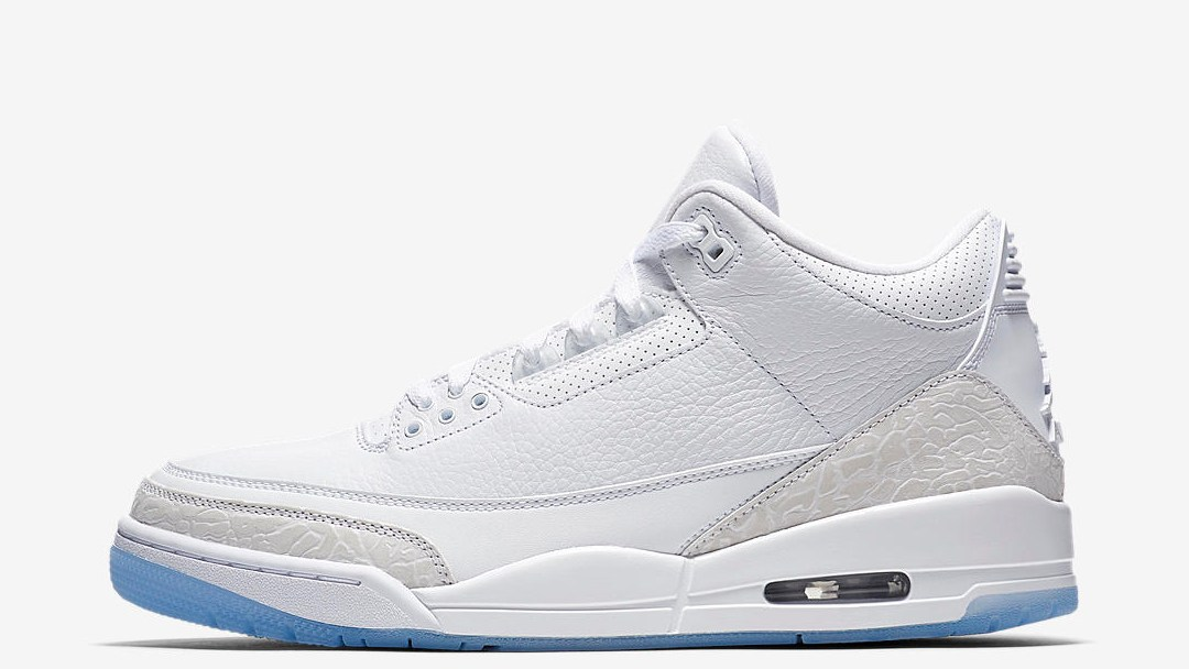 e3734f24662 An Official Look at the Air Jordan 3 'Pure White' - WearTesters