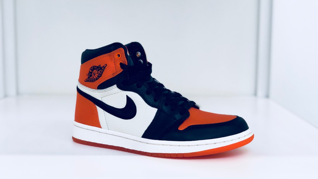 4babe5efbf73 The Air Jordan 1 Satin  Shattered Backboard  is for the Ladies ...