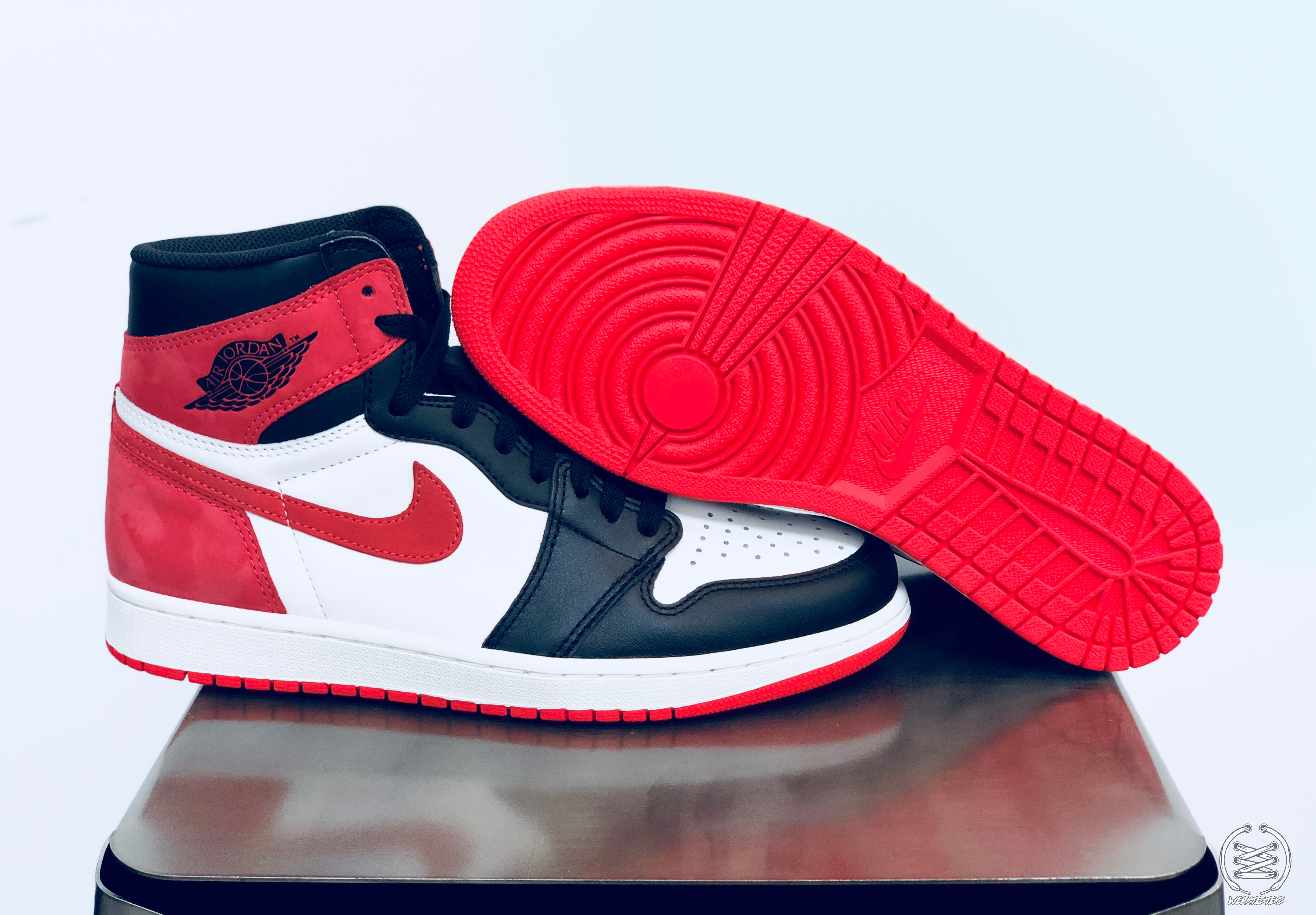 f2294b4e87b2ba Air Jordan 1 Track Red Best Hand in the Game collection 1 - WearTesters