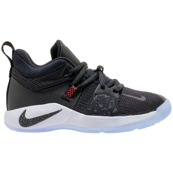 NIKE PG2 GS BLACK:BLACK-WHITE-SOLAR RED 4