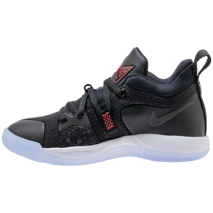 NIKE PG2 GS BLACK:BLACK-WHITE-SOLAR RED 5