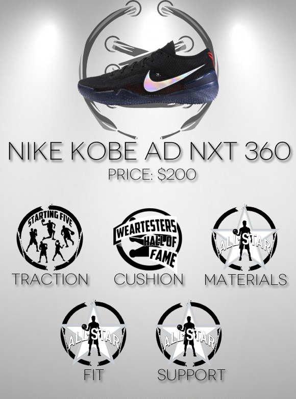 fefb88db6e01 Nike Kobe NXT 360 Performance Review AnotherPair score - WearTesters