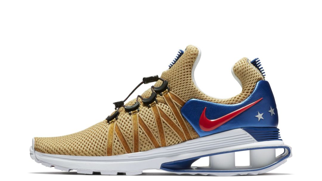 new arrivals 8ffcc f0951 USA-Themed Nike Shox Gravity Surfaces Online - WearTesters