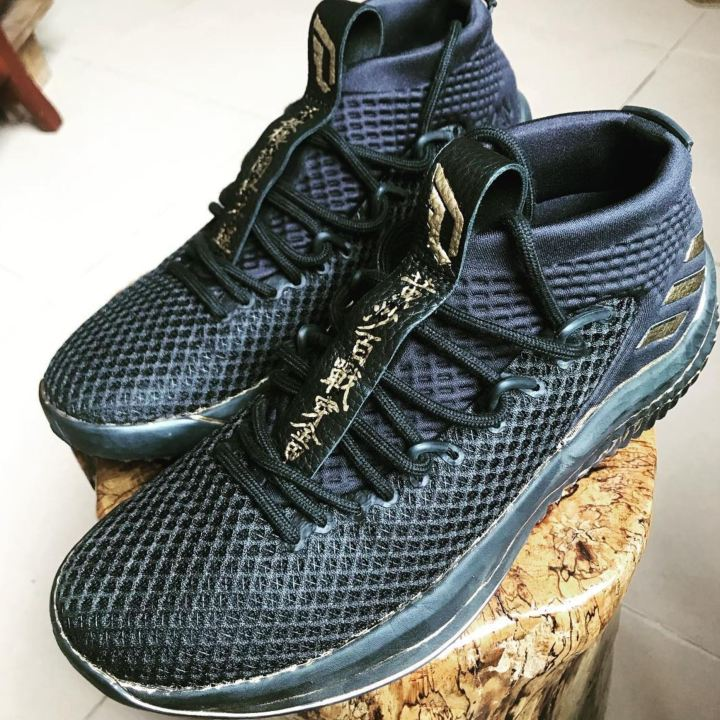 adidas dame 4 chinese characters
