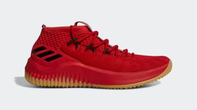 ... New adidas Dame 4 Scarlet Drops Early 3bf6e7546
