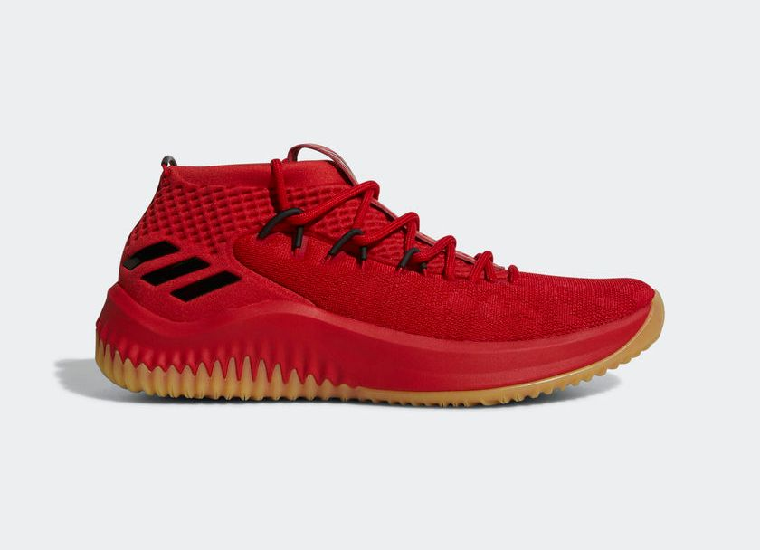 064be32420d7 New adidas Dame 4  Scarlet  Drops Early