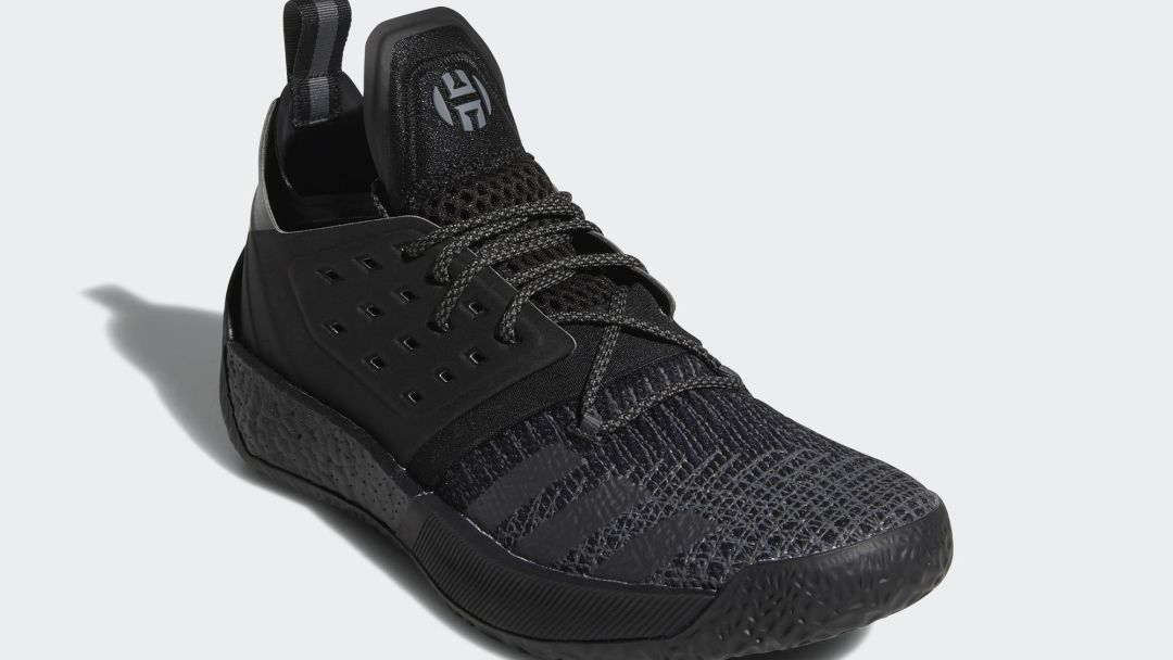 3ed5021c96f The adidas Harden Vol 2 Releases in Nearly-Triple Black This ...
