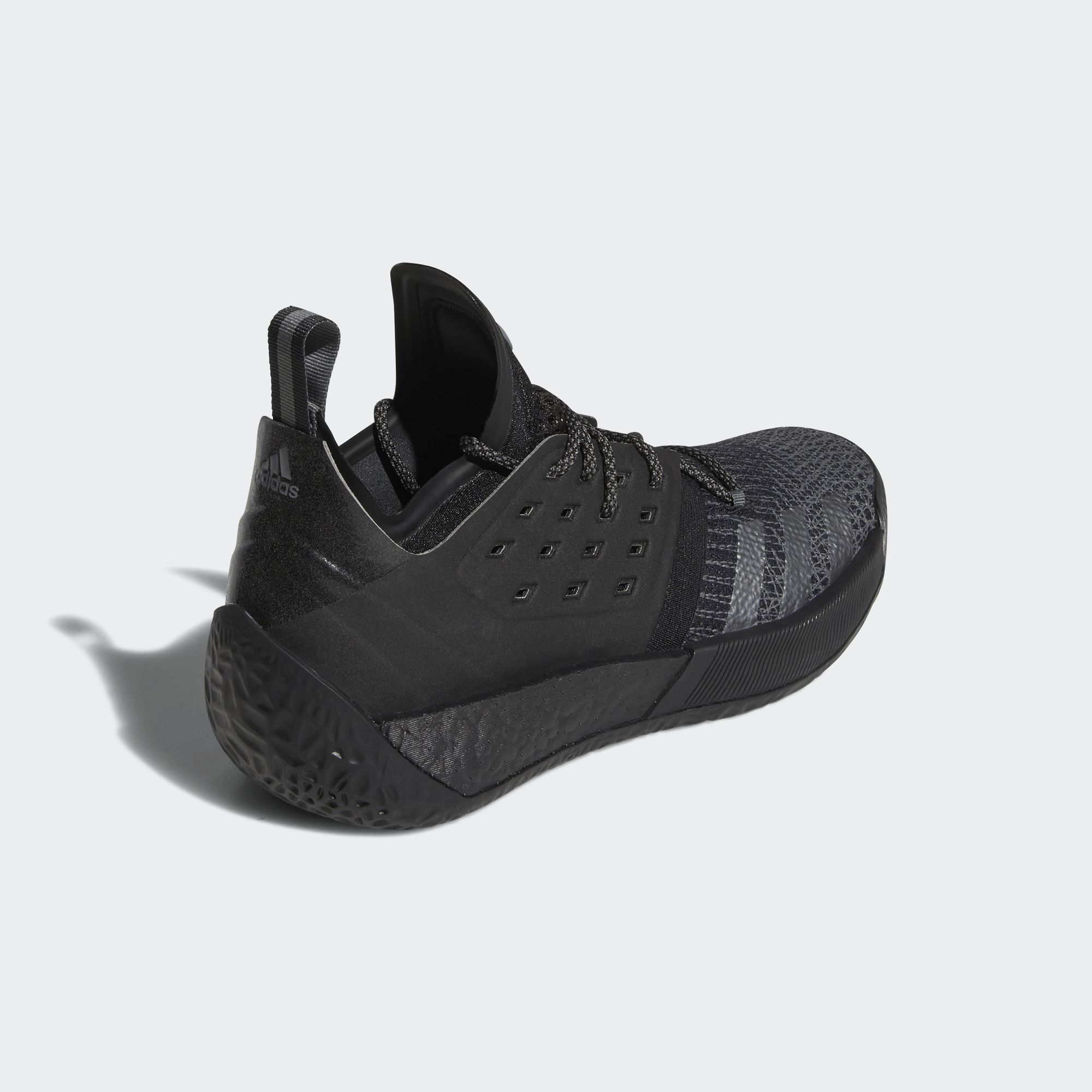 d593f02256ee adidas harden vol 2 triple black 5 - WearTesters