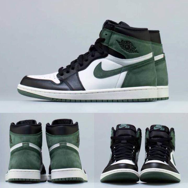 air jordan 1 clay green release date