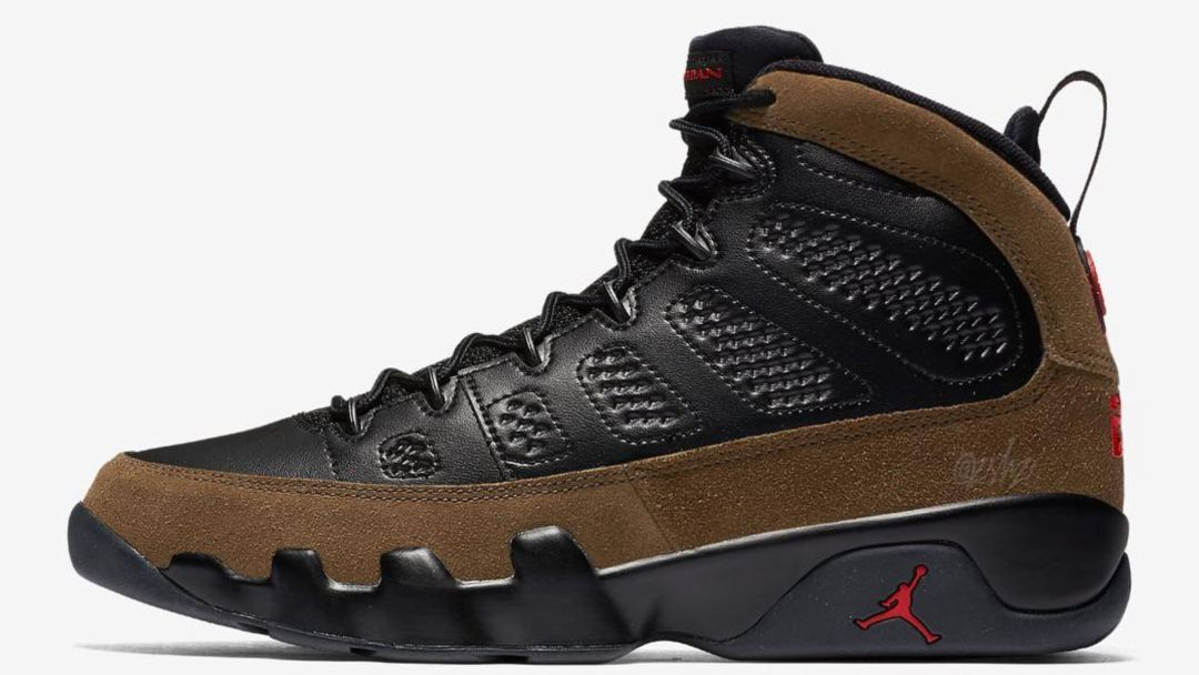 9195cb4c06fe Expect the Air Jordan 9  Olive  to Return in December - WearTesters
