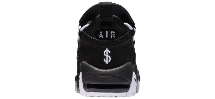 nike air more money black white 2
