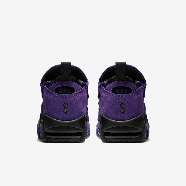 nike air more money court purple quickstrike 4