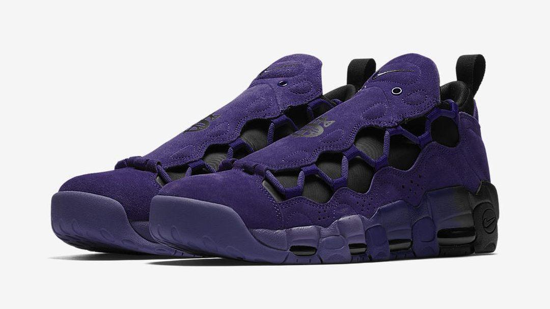 nike air more money court purple quickstrike