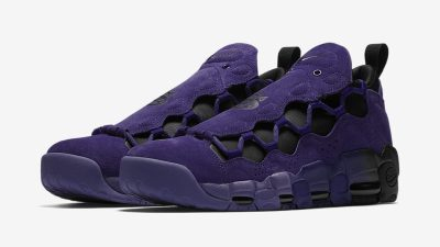 nike air more money court purple quickstrike