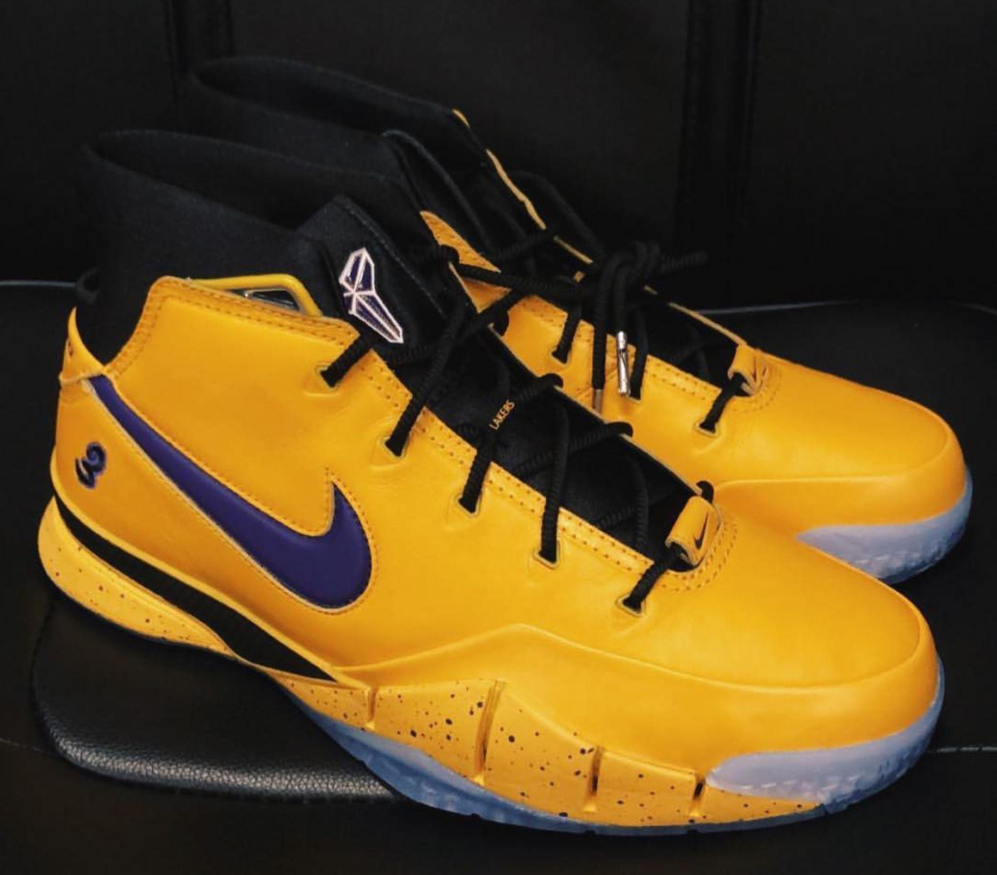 bbb116cd391 nike kobe 1 protro PE isaiah thomas · Basketball   Kicks On Court   Nike ...