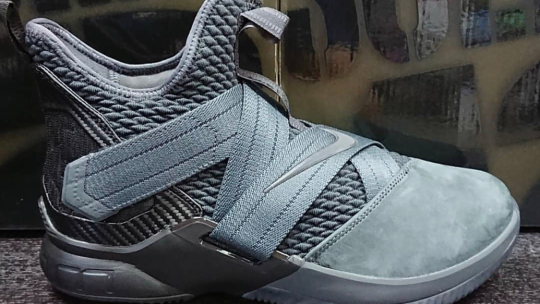 timeless design b00a6 2012c nike lebron soldier 12 SFG grey