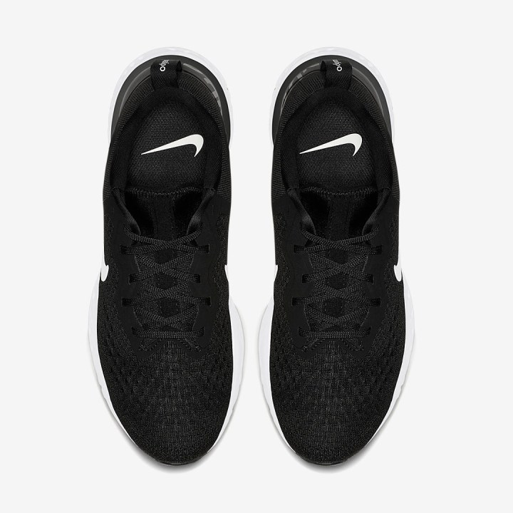 nike odyssey react black white 1