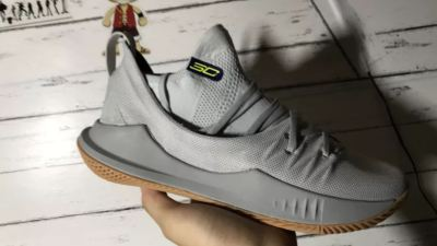 under armour curry 5 grey gum 10