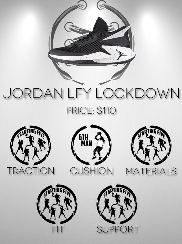 Jordan Fly Lockdown Performance Review Score