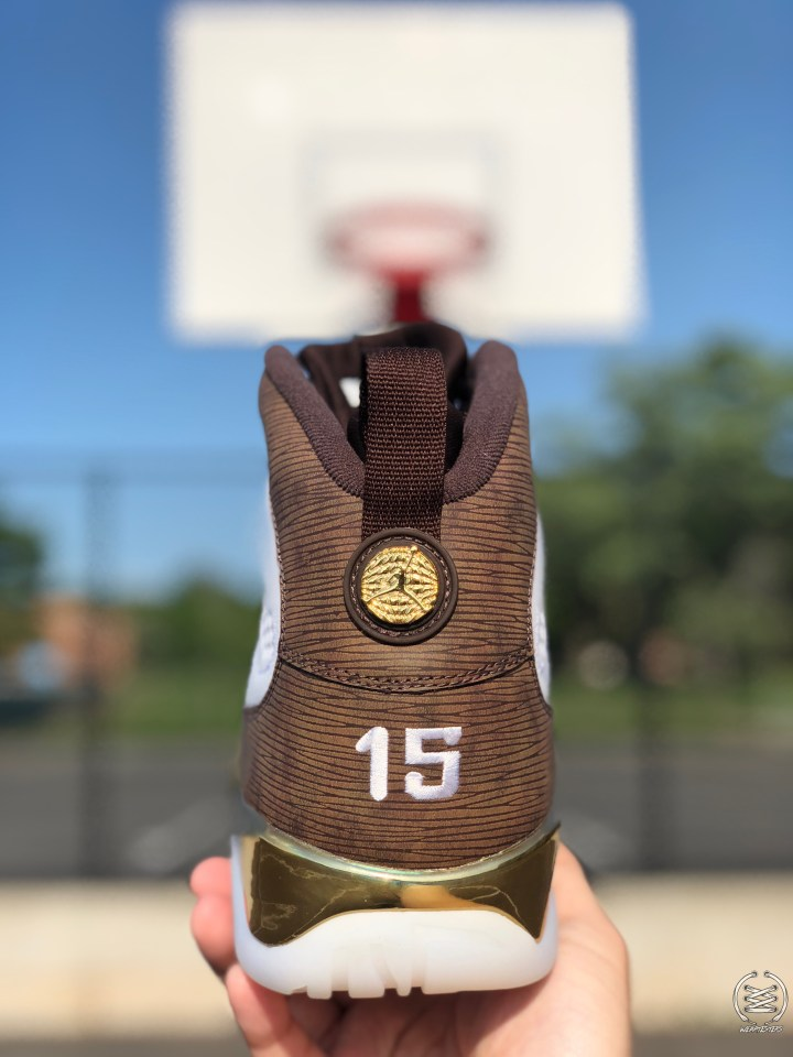 9a430790d0c049 Detailed Look at the Air Jordan 9  MOP Melo  - WearTesters