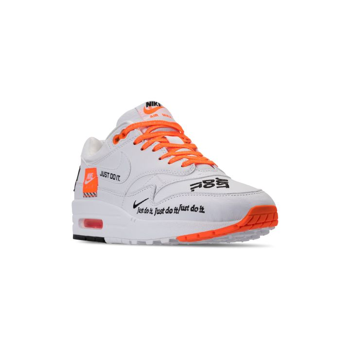 NIKE WMNS AIR MAX 1 LUX JDI TOTAL ORANGE : WHITE -BLACK 2