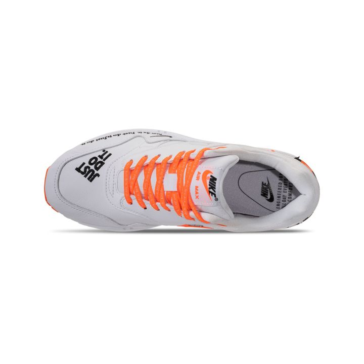 NIKE WMNS AIR MAX 1 LUX JDI TOTAL ORANGE : WHITE -BLACK 6
