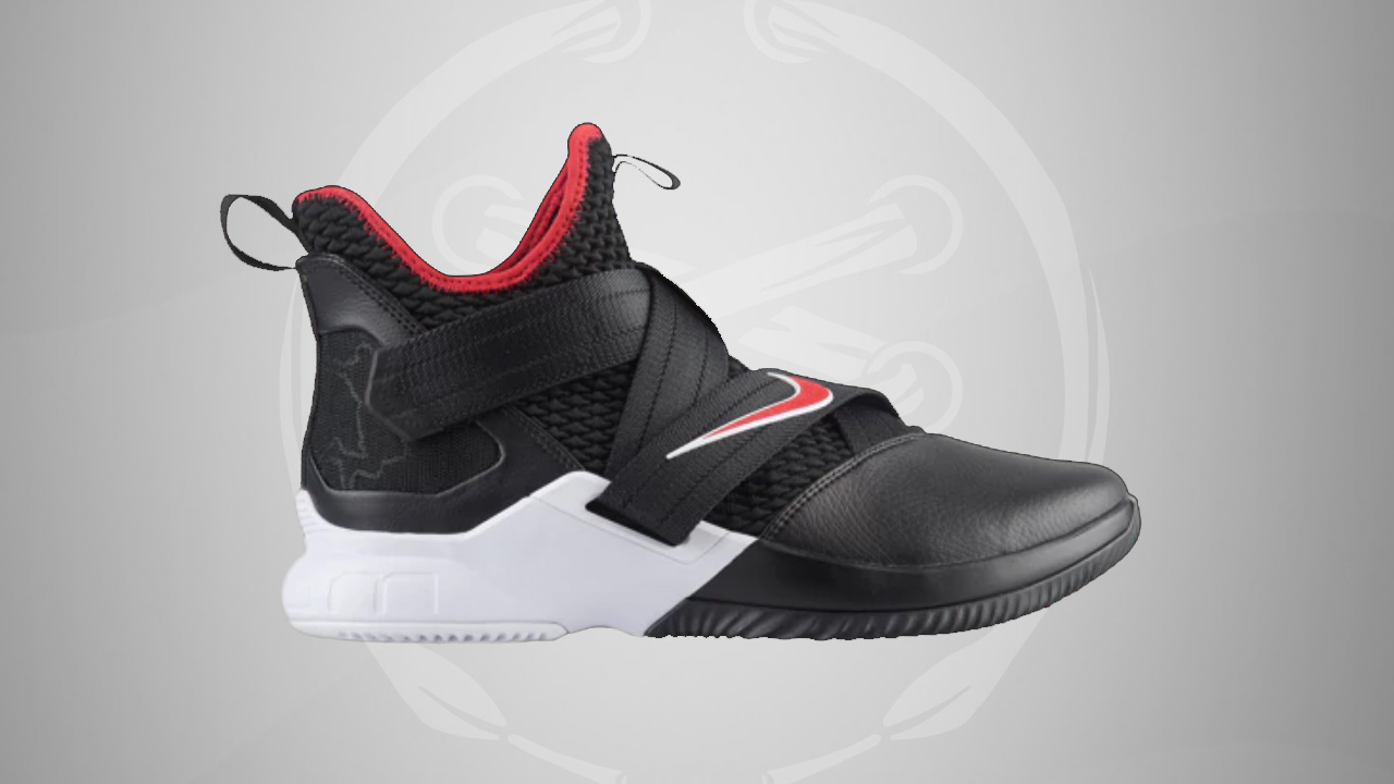 8d1f3a70a15 Nike LeBron Soldier 12 Black red · Kicks On Court   Nike ...
