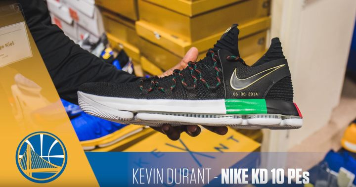 kevin durant nike kd 10 BHM PE