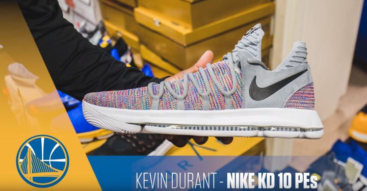 kevin durant nike kd 10 multicolor PE 1