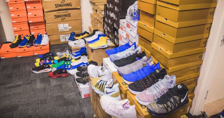 kevin durant sneakers warriors
