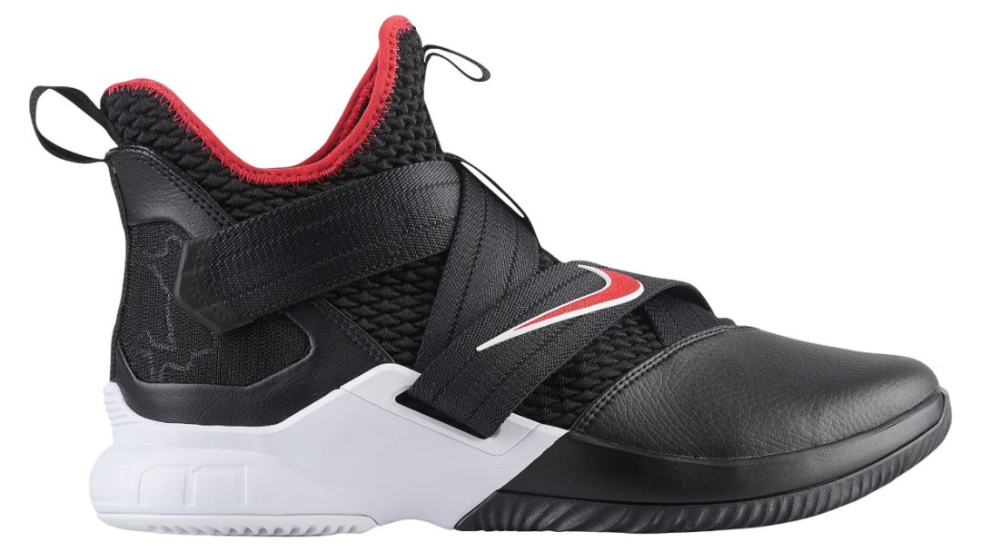 dba7e6fac50a The Nike LeBron Soldier 12  Black Red  is Available Now - WearTesters