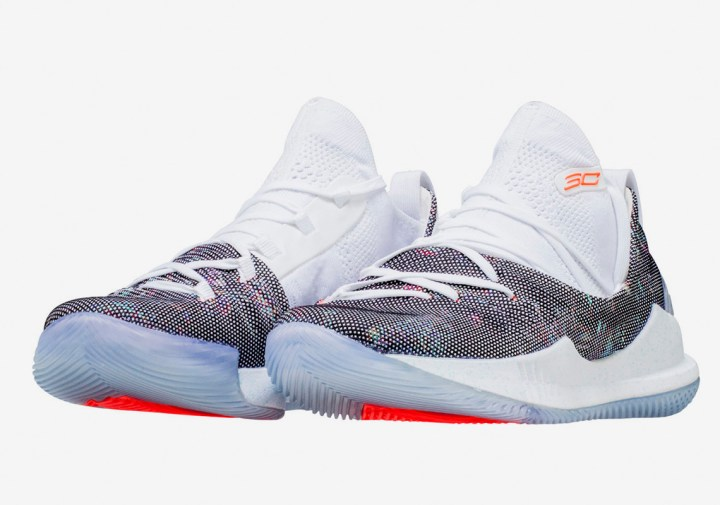 under armour curry 5 neon coral