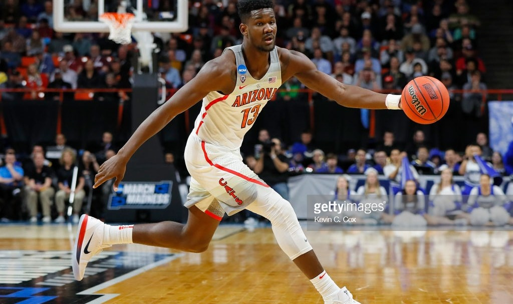 8fbc59861c7f Projected No. 1 Pick Deandre Ayton Joins Marvin Bagley III in ...