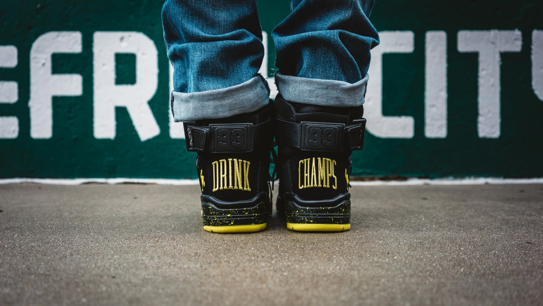 Drink Champs Ewing sneaker