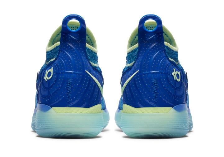 Nike KD 11 paranoid heels