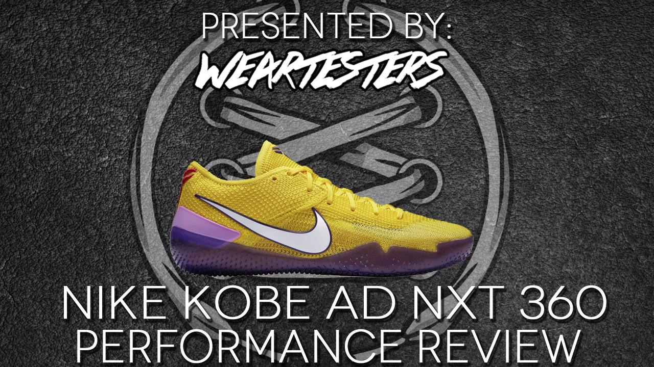 new arrival cfe12 5ed9f Nike Kobe NXT 360 performance review. Jun15