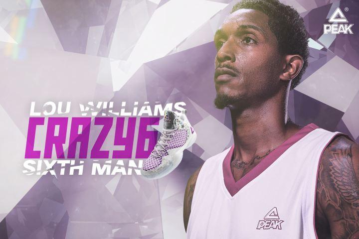 PEAK lou williams sixth man of the year
