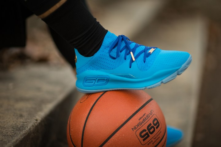 Under Armour Curry 4 low color pack blue