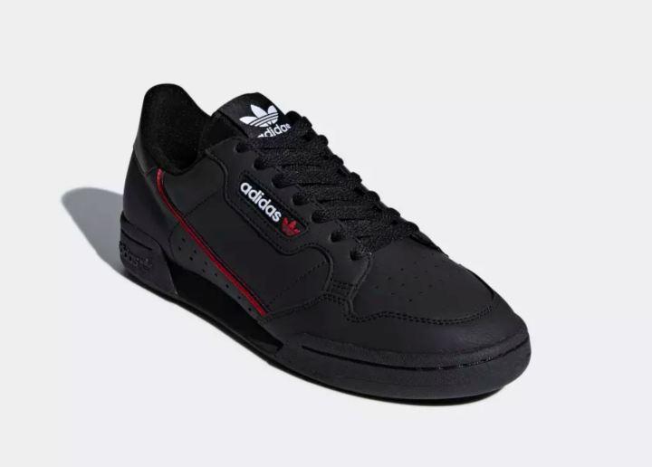 adidas continental 80 black 1