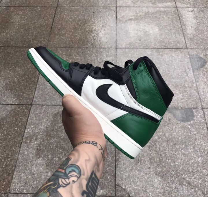 air jordan 1 pine green dirtymoney823