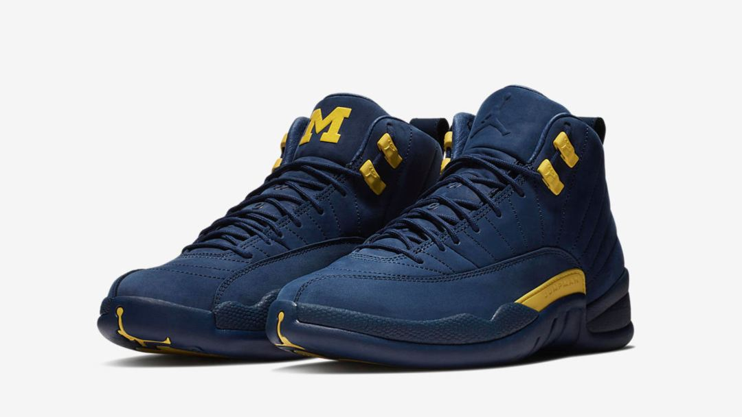 ebe27abe4bbf Jordan Brand Will Release the Air Jordan 12  Michigan  PE Saturday ...