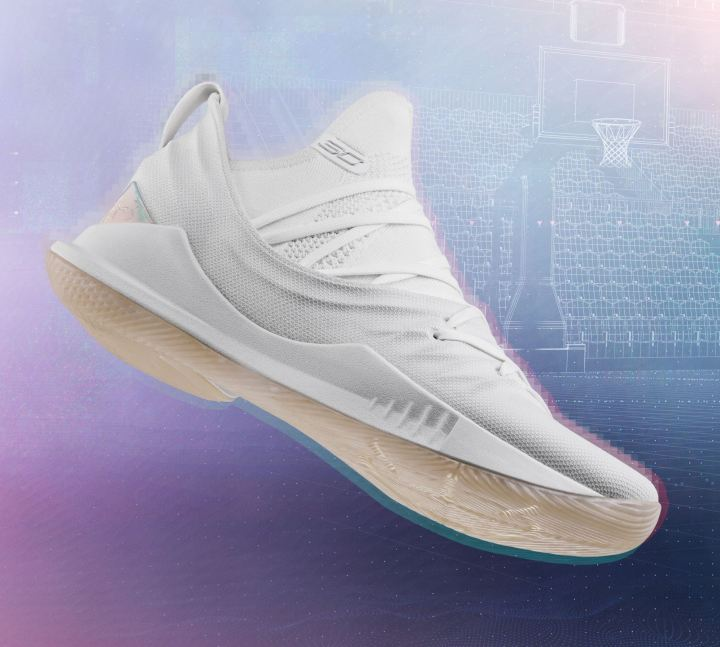 curry 5 white
