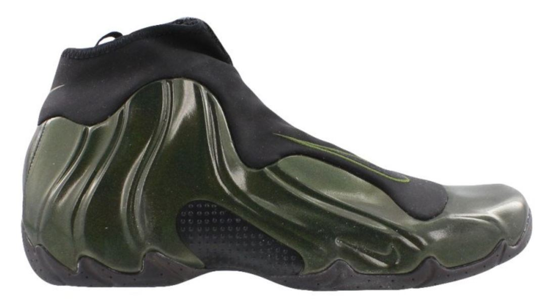 nike air flightposite green 2018