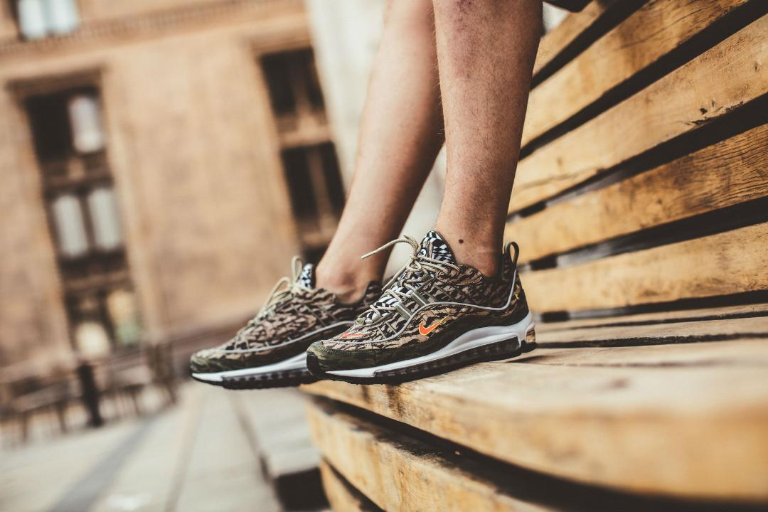 nike air max 98 AOP camo - WearTesters 5a6f00583