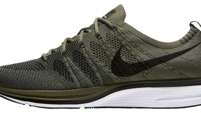 ad6cc9495e9fa The Nike Flyknit Trainer  Olive  Has Dropped at Eastbay