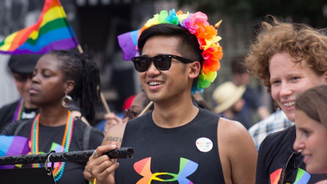 under armour baltimore pride parade