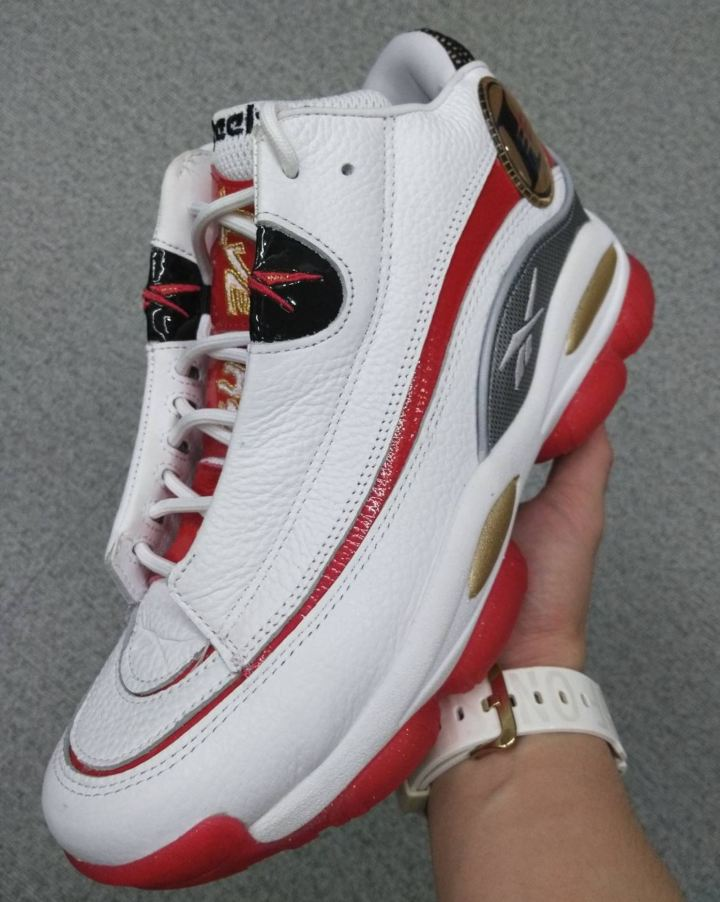 2018 reebok answer 1 white red