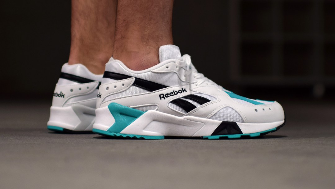 2018 reebok aztrek OG on foot